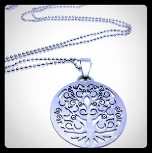 Jewelry - Stainless Steel Tree of Life Necklace